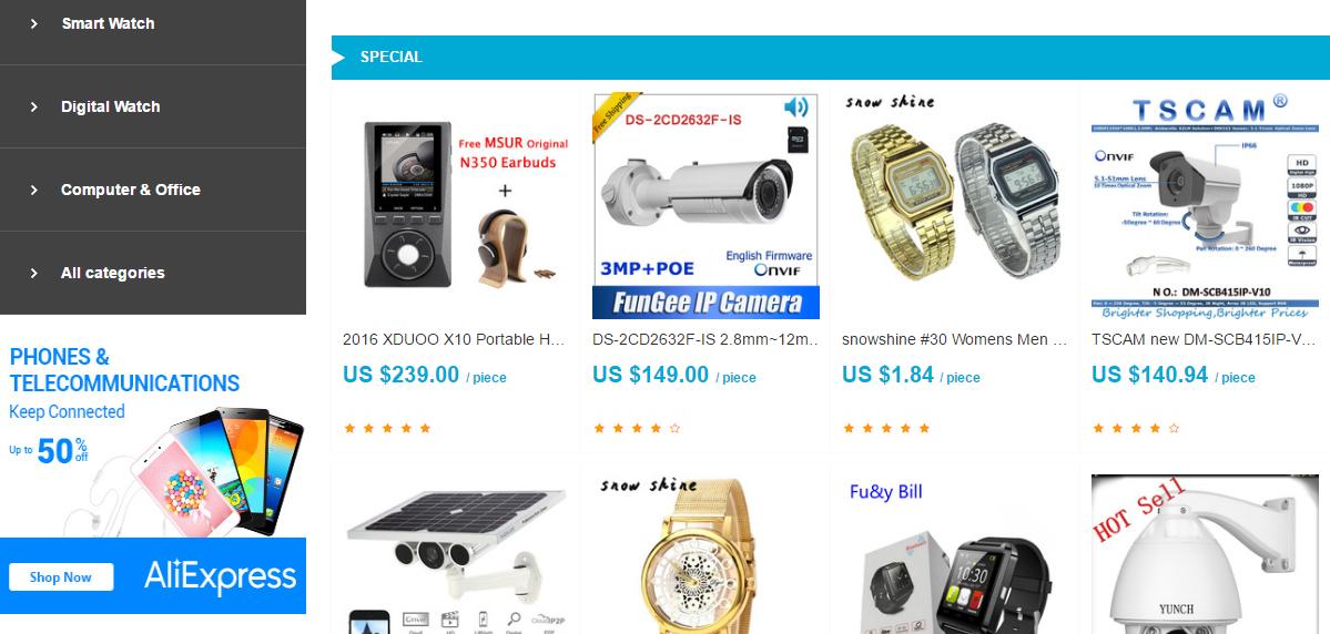 contoh toko online yang jualan online dengan sistem affiliate