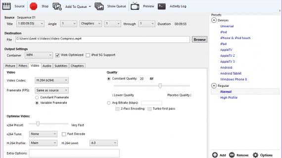 Cara Compress atau Mengecilkan Ukuran File Video