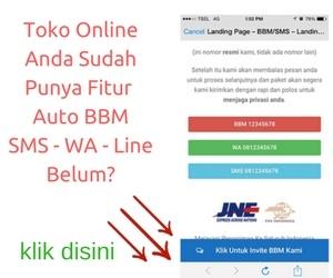 Fitur Toko Online Serba Automatic