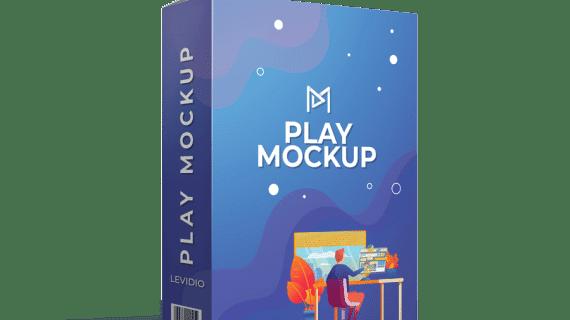 Levidio PlayMockup > Tool Membuat Video, Mockup, 3D Cover, Website, Desain Buku & Majalah Serta Banner Animasi