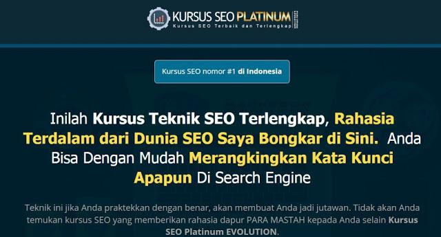 Kursus SEO Platinum